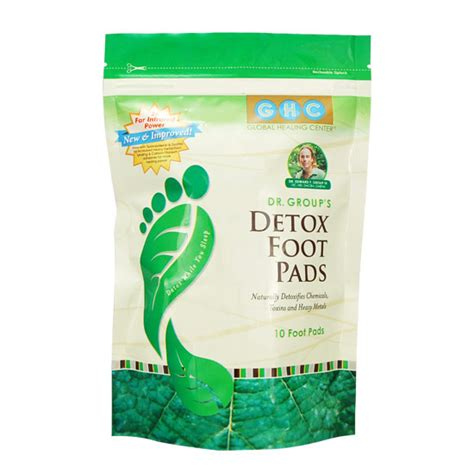 Detox Through Pads by Dr S Detox Foot Pads 174 6 Packages