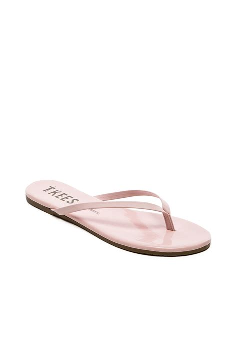 tkees sandals tkees sandal in pink lyst