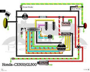 1982 honda cx500 wiring diagram free wiring