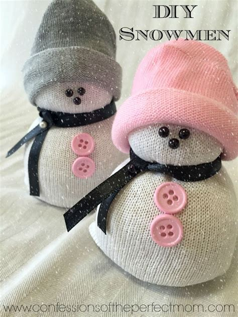 adorable sock snowman diy sock snowman snowmen crafts omg these are so