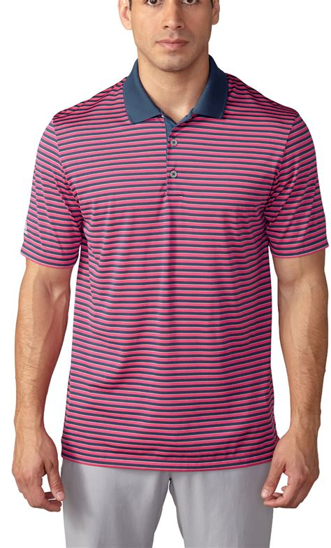 Sweater Adidas 3 Colors adidas performance 3 color stripe polo golf shirt closeout
