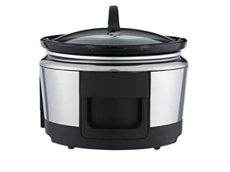 wifi cooker crock pot wemo smart wifi enabled slow cooker 6 quart