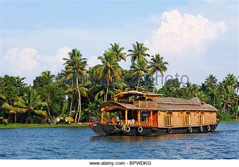 kerala style houseboat kerala backwaters stock photos kerala backwaters stock