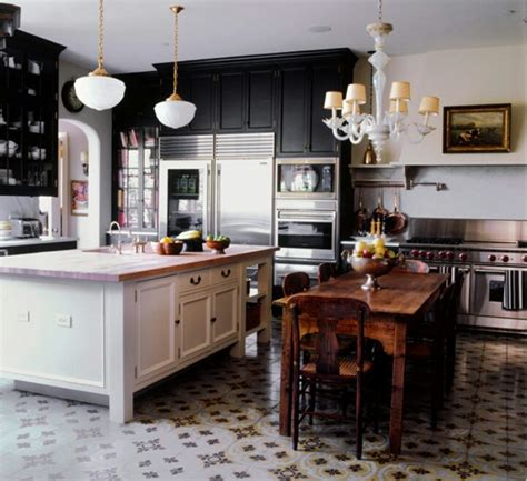 Inspiration Pour La Cuisine Kitchen Inspiration Black Kitchen Chandelier