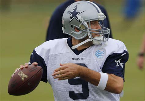 Tony Romos Trip Could Turned Awkward by Tony Romo Hopes To Turn Dallas Cowboys Season Around