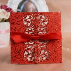 gorgeous bow style wedding invitation cards weddings