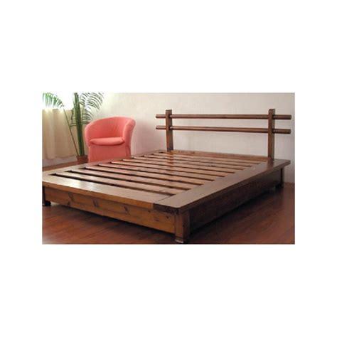 letto a in legno massello letto mod tokyo 2 piazze l letti in legno massello con
