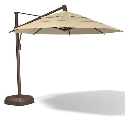 Big Patio Umbrella Max Coral Coast Offset