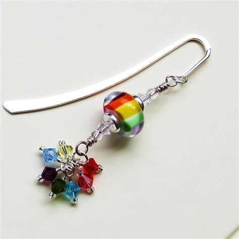 Handmade Beaded Bookmarks - 1000 ideas about beaded bookmarks on ribbon