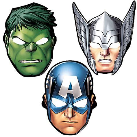 avengers mask template masks 187 187 partyfun