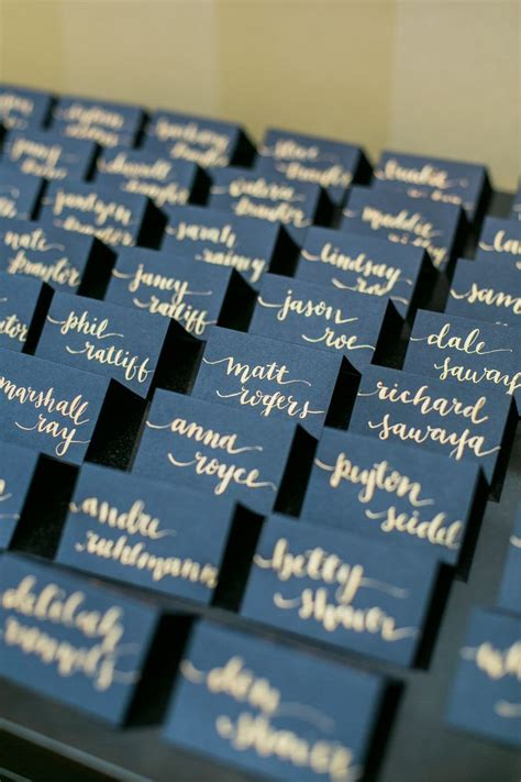 starry place card template best 25 wedding name cards ideas on table