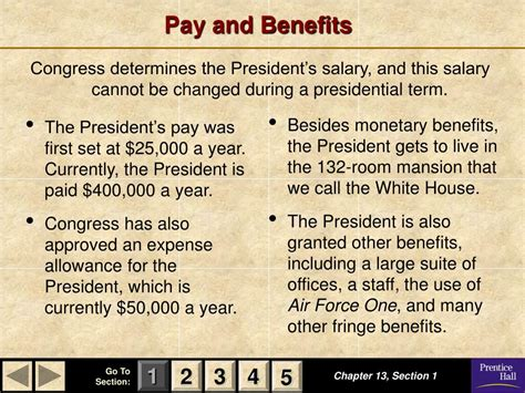 Section 132 Fringe Benefits by Ppt Magruder S American Government Powerpoint