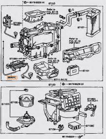96 toyota camry air conditioner duct diagram air mix servo motor location toyota nation