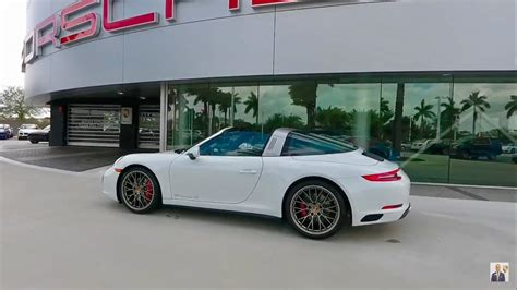 2017 White Porsche 911 Targa 4s 420 Hp Porsche West