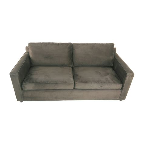 crate and barrel sleeper sofa crate and barrel sofas axis ii light grey sleeper sofa