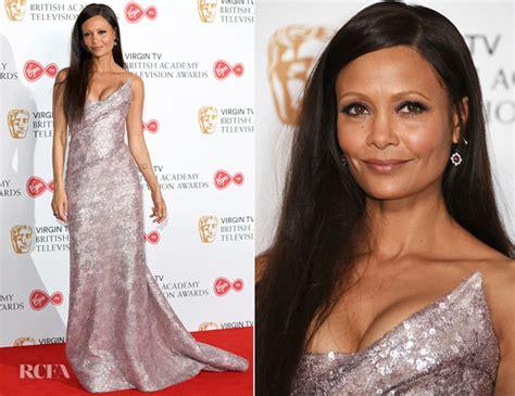 Catwalk To Carpet Thandie Newton Carpet Style Awards by Thandie Newton In Vivienne Westwood Tv Bafta