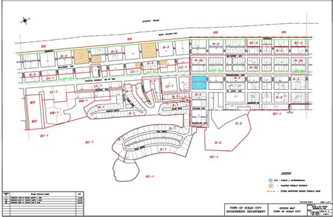 Plumbing New Construction by Zoning Maps Town Of Ocean City Maryland
