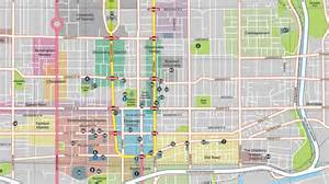 map of downtown toronto canada magazines guides maps tourism toronto