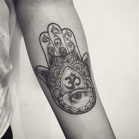hamsa tattoos for men ideas and designs for guys