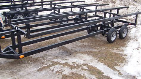 boat trailer axle lift 20ft dual axle scissor trailer t m marine
