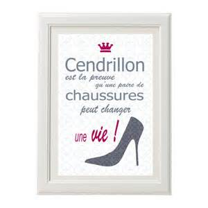 Love Quotes Wall Stickers affiche citation humour cendrillon poster