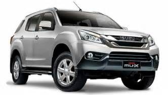 Isuzu Suv Models 2017 Isuzu Mu X Suv Rumors Future Cars Models