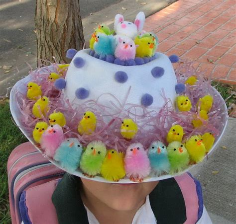 cool easter bonnet or hat ideas hative