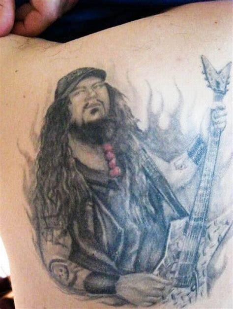 dimebag darrell tattoos dimebag darrell tribute tattoos