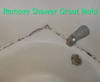 Removing Mould From Shower Grout by Shower Grout Mold Homestead Survival