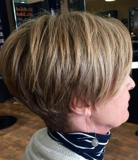 stacked hairstyles for 50 20 elegant hairstyles for women over 50