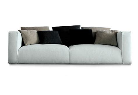 poliform couch shangai sofa by poliform stylepark