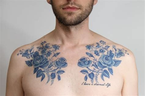 floral chest tattoo 100 exceptional shoulder designs for and
