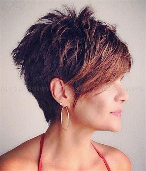 short hair cuts short in front longer in back 2018 popular short haircuts with longer bangs