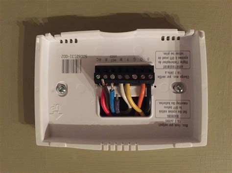 wiring diagram for honeywell thermostat rth2300b