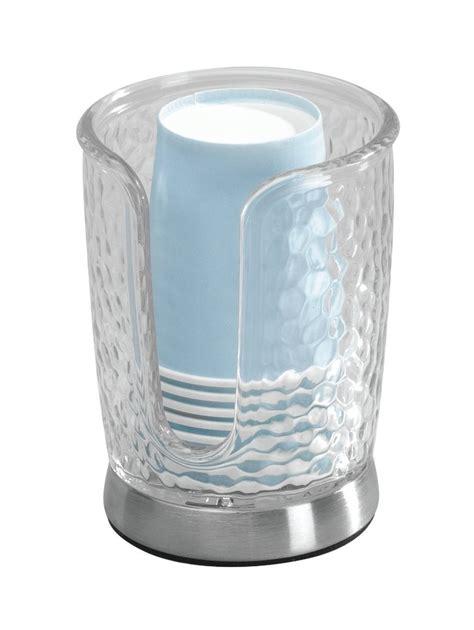 bathroom paper cup dispenser mdesign disposable paper cup dispenser for bathroom vanity