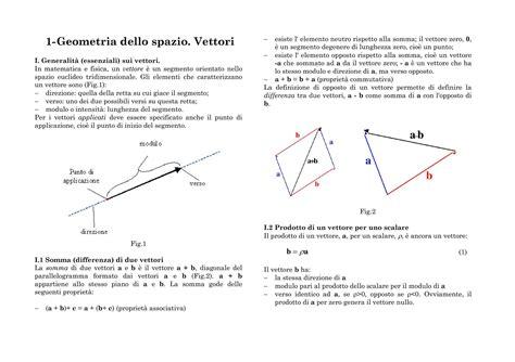 Dispense Geometria by Geometria Dello Spazio Dispense