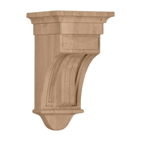 12 Inch Corbels Restorers Architectural 12 Inch Raised Fluted Corbel