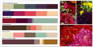 fall color schemes fall pennock floral