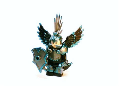 Lego Sapphire Minifigure sapphire moc made with lego blocks and