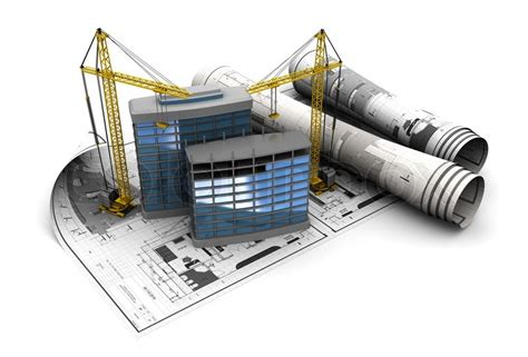 Home Building Plans Free by 3d Illustration Of Modern Building Construction Concept