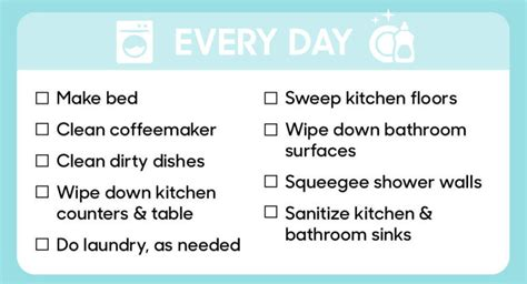here s a guide to how often you need to clean everything
