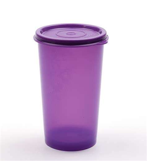 Tumbler Tupperware tupperware 1 pc purple rainbow tumbler 340 ml by