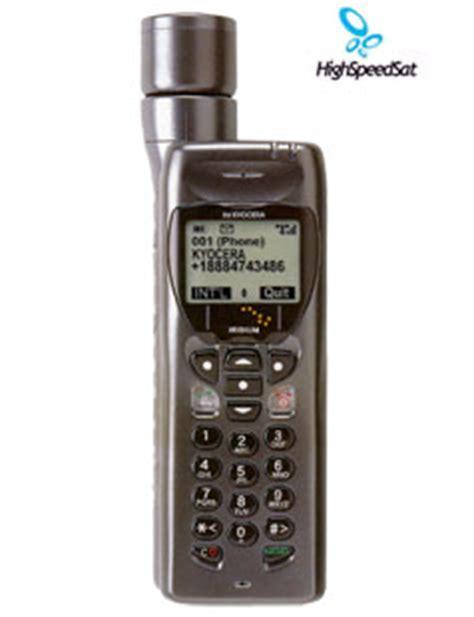 kyocera ss  iridium portable satellite phone