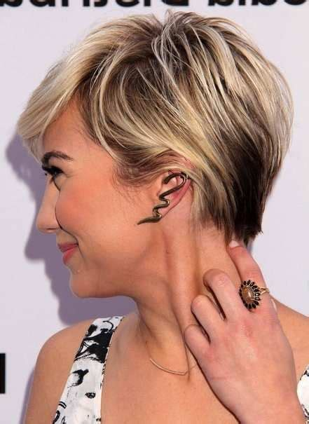 blonde pixie haircuts  highlights  style brown blonde hair short brown hair