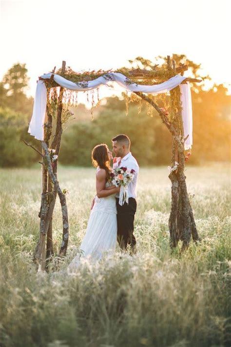 Wedding Arch Tree Branches by 36 Wood Wedding Arches Arbors And Altars Weddingomania