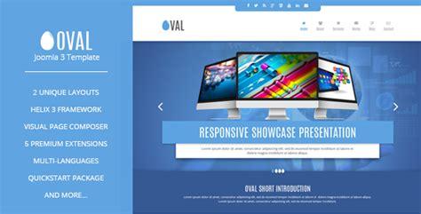 Vina Oval Responsive Joomla 3 One Page Template By Vinawebsolutions Joomla One Page Template Free