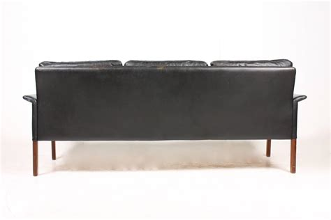 sofa maßanfertigung sofa in patinated leather by hans for sale at 1stdibs