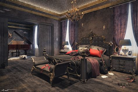 bedroom deco unleash your gothic personality in your bedroom with these