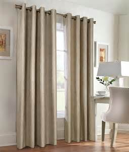 Taupe Color Curtains Navar Blackout Thermal Grommet Top Curtains Insulated Curtains Solid Color 8 Grommets Curtains