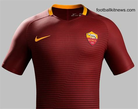 Jersey As Roma 3rd 20162017 new roma jersey 2016 17 as roma home kit 16 17 nike football kit news new soccer jerseys